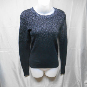 NWOT Express black sparkly sweater women's size XS